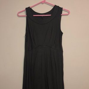 banana republic sleevless petite fitted dress